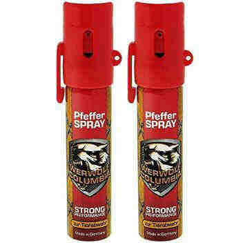 Werwolf Columbia Pfefferspray